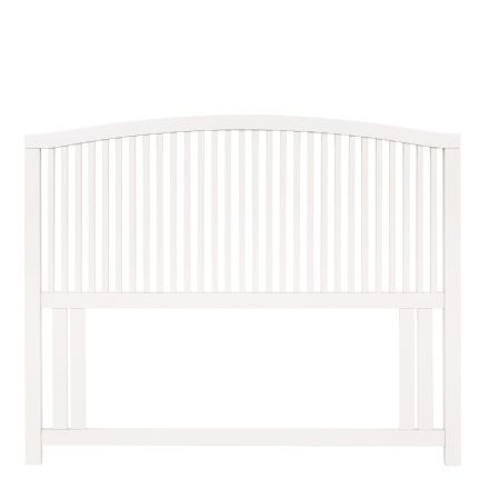 Ashby White Painted Double Headboard